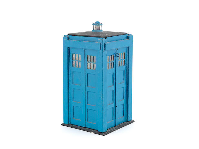 Doctor Who: An original Tardis prop model,  circa 1968,