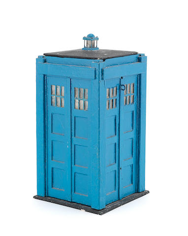 Doctor Who: An original Tardis prop model,  circa 1968,