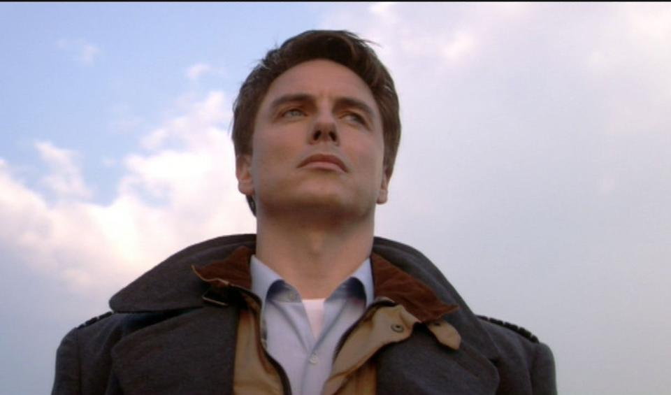 Torchwood: John Barrowman as Captain Jack, a collection of part costumes, including: Series 1 - Episode 1, 2006, 13