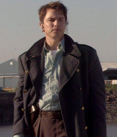 Torchwood: John Barrowman as Captain Jack Harkness, a collection of part costumes, 2006-2009,  13
