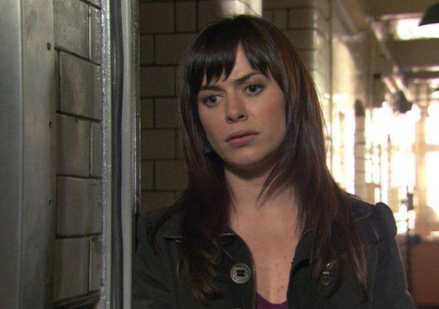 Torchwood, Series 1 Episode 13 'End of Days': Eve Myles as Gwen Cooper, a costume, 2006,   2