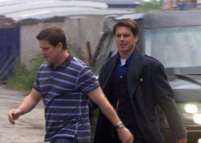 Torchwood, Series 2: Kai Owen as Rhys Williams, a collection of part costumes, 2008,  11