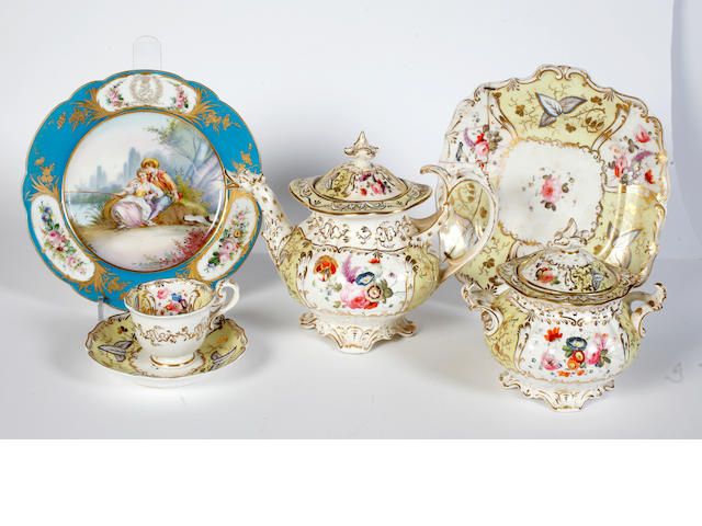 A coalport part-tea and coffee service