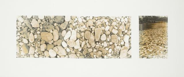 Andy Goldsworthy (British, born 1956) Crack Line Through Stones 5th April 1981 54.5 x 125.5 cm. (21 7/16 x 49 7/16 in.) sheet