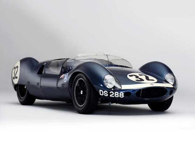 The Ex-Jackie Stewart, Jack Brabham, Roy Salvadori, Tommy Dickson, Bruce Halford, Jimmy Blumer,1960 Cooper Monaco-Climax  'Mark II' Type 57 Rear-Engined Sports-Racing Prototype  Chassis no. DM/773/W