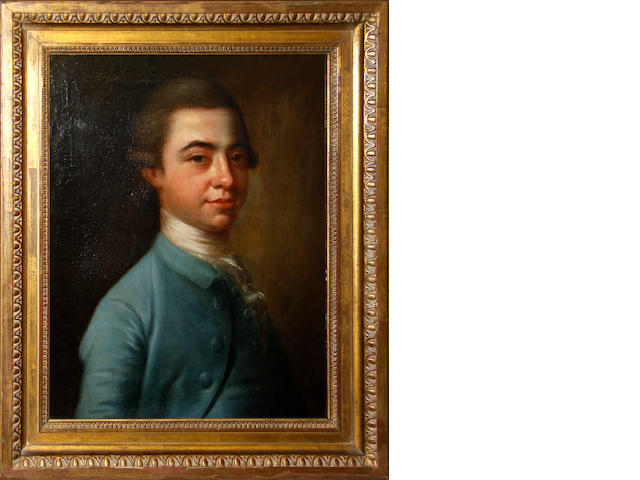 English School, late 18th Century Portrait of a gentleman, bust length