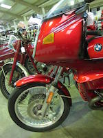 1978 BMW 980cc R100RS Frame no. 6063077 Engine no. 6063077