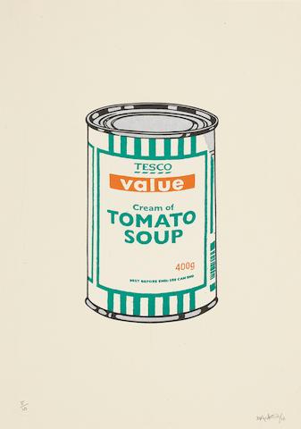 Banksy (b. 1975) Soup Can