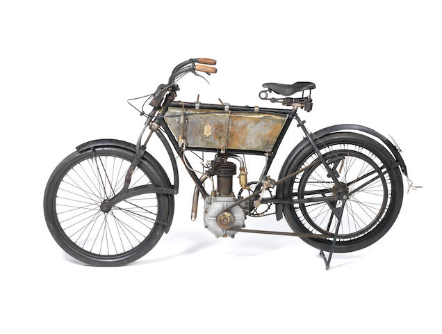c.1907 Peugeot 2½hp Frame no. 13040 Engine no. 8130