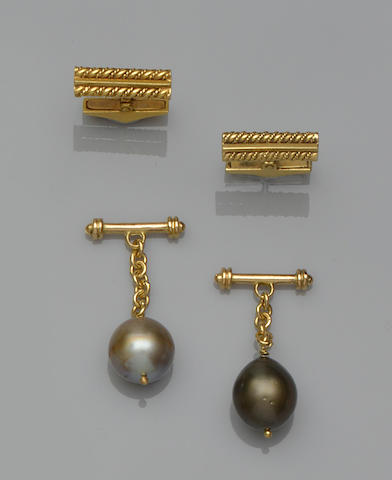 Two pairs of cufflinks (2)