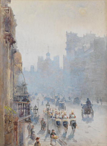 Rose Maynard Barton, R.W.S. (Irish, 1865-1929) A view of St James's