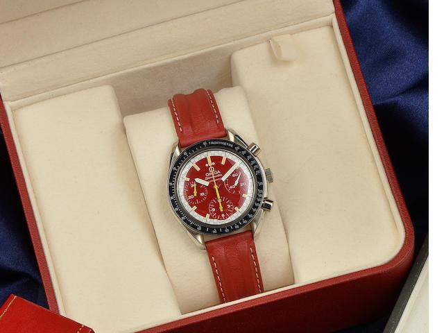 Omega: A gentleman's automatic chronograph Seamaster wristwatch