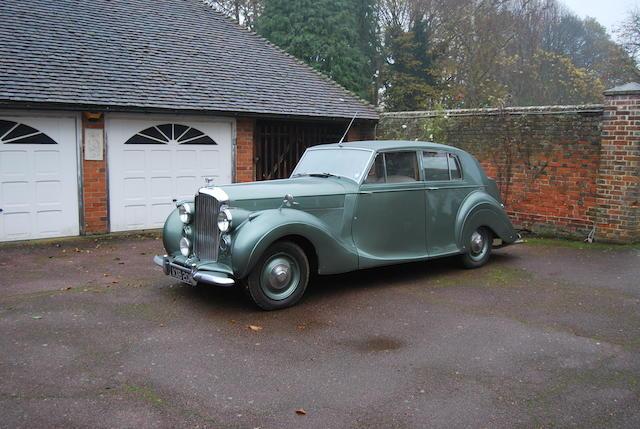 1949 Bentley MkVI Saloon  Chassis no. B403DZ Engine no. B451D