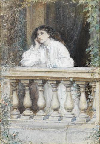 Sir John Everett Millais, PRA (British, 1829-1896) A dream at dawn