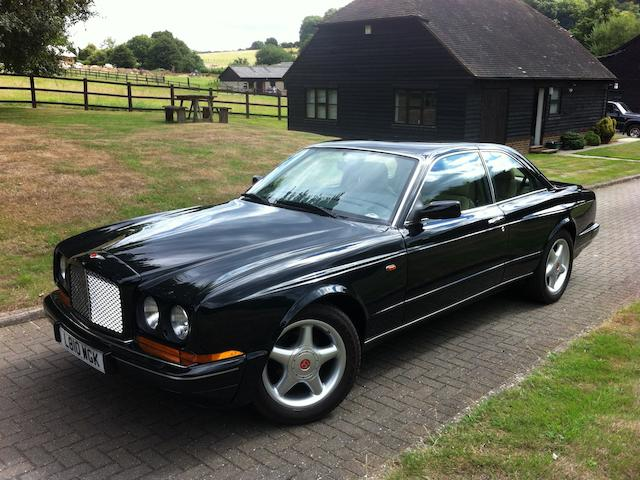 1994 Bentley Continental R Coupe, Chassis no. SCBZB03C6RCX52212 Engine no. 82269L410MTKP