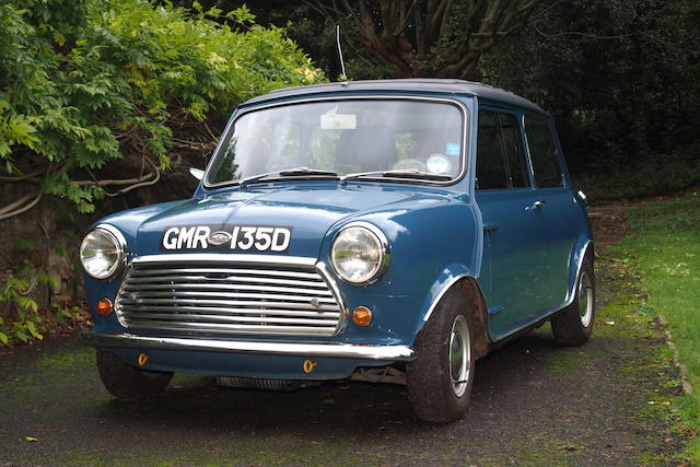 Owned by Moulton Developments Ltd from new,1966  Morris Mini Cooper 'S' Saloon  Chassis no. L109758/FE1680082 (see text) Engine no. 9FS.SA.Y.42686