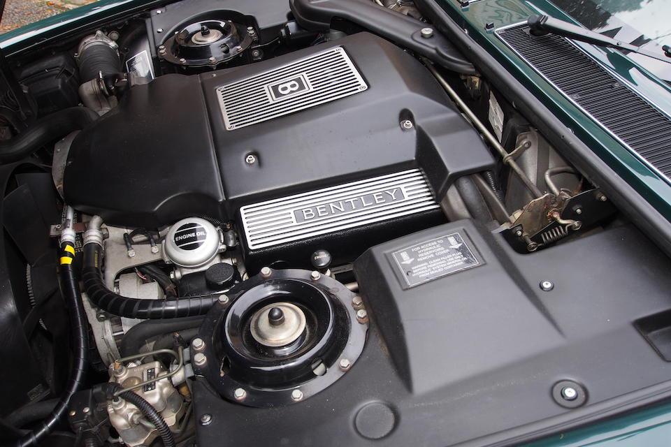 1997 Bentley Brooklands Saloon  Chassis no. SCBZE20C6VCH60007 Engine no. 86923L410M/T1V