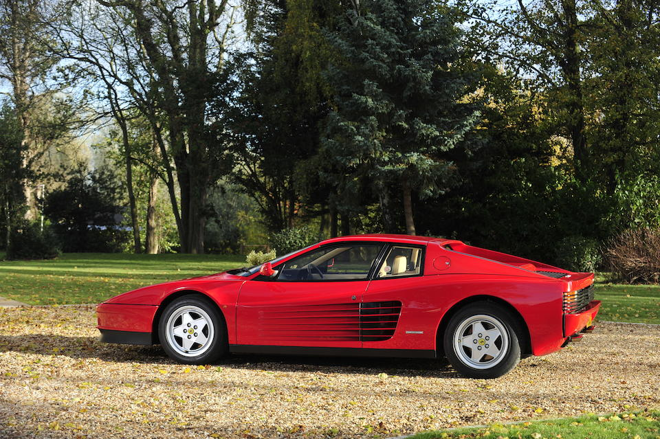 1988 Ferrari Testarossa Berlinetta  Chassis no. ZFFAA17C000077054 Engine no. 12597