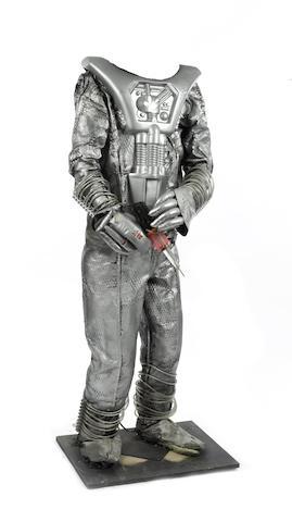 Doctor Who: Silver Nemesis - A part Cyberman costume, November 1988,