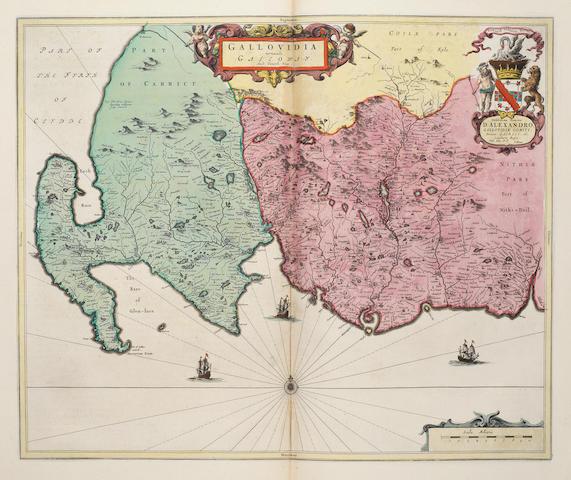 BLAEU (WILLEM) Atlas nuevo de los reynos de Escocia e Yrlanda [vol. 5 of 'Nuevo Atlas o Teatro del Mundo'], Amsterdam, J. Blaeu, 1662
