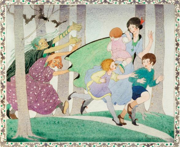 Ethel Spowers (1890-1947) (Enchanted Forrest), 1926