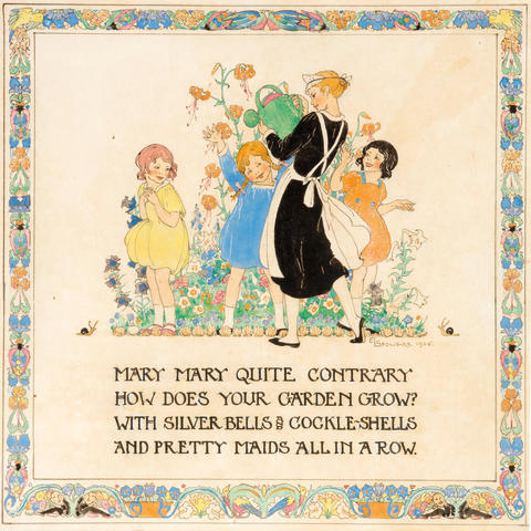 Ethel Spowers (1890-1947) Mary Mary, Quite Contrary, 1925