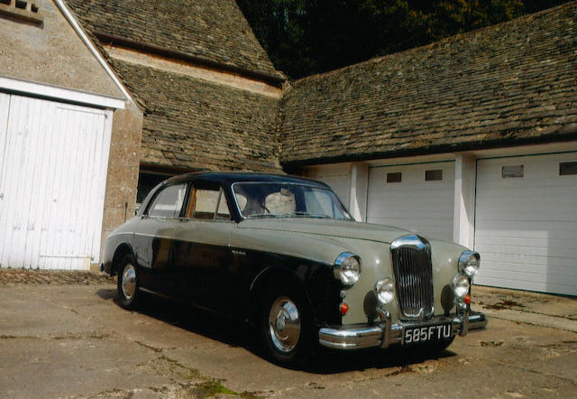 1959 Riley 2.6 Saloon  Chassis no. UAAB1-2257 Engine no. 16RUH2773