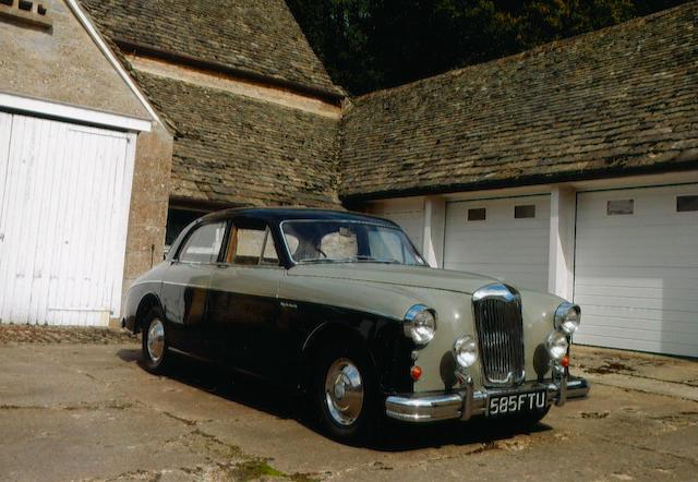 1959 Riley 2.6 Saloon  Chassis no. UAAB1-2257 Engine no. 16RUH2773