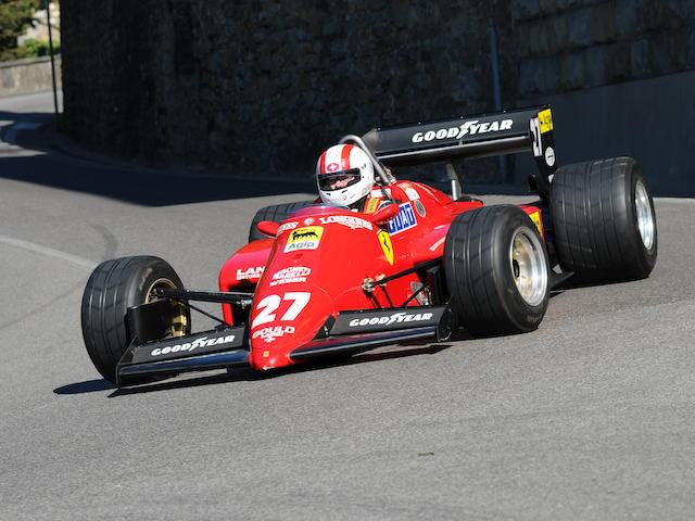 1984 Ferrari 126 C4 M2 Chassis no. 072