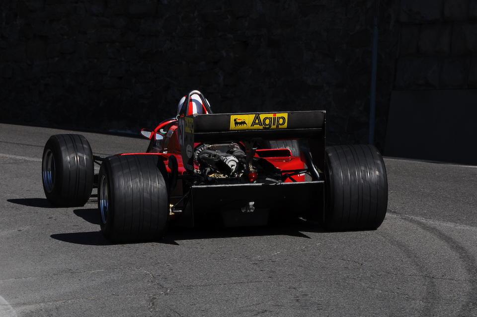 Ex-Michele Alboreto Certifiée par Ferrari Classiche ,1984 Ferrari 126 C4 M2 Formule 1 monoplace