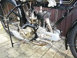 1925 Henley-Blackburne  550cc 4¼hp Sports Frame no. XU 3178 Engine no. F 619