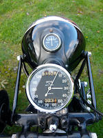 1939 Brough Superior 990cc SS80 with 'Petrol Tube' Sidecar Frame no. M8 2064 Engine no. BS/X 4777