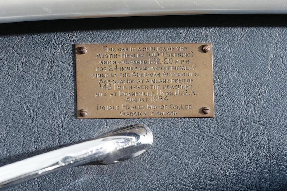 Ex-1955 Sebring 12h,1955 Austin-Healey 100S