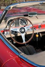 Même propriétaire depuis 1972,1958 Mercedes-Benz 300SL Roadster avec son hard-top d'usine