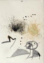 Joan Miró (Spanish, 1893-1983) Femme, oiseau, étoile