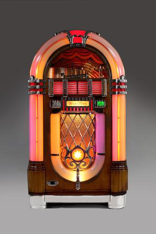 A Wurlitzer type 1015 jukebox, American, 1946-47,