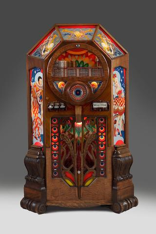 "A Wurlitzer ""Victory"" type 950 jukebox, Amercian, 1943,"