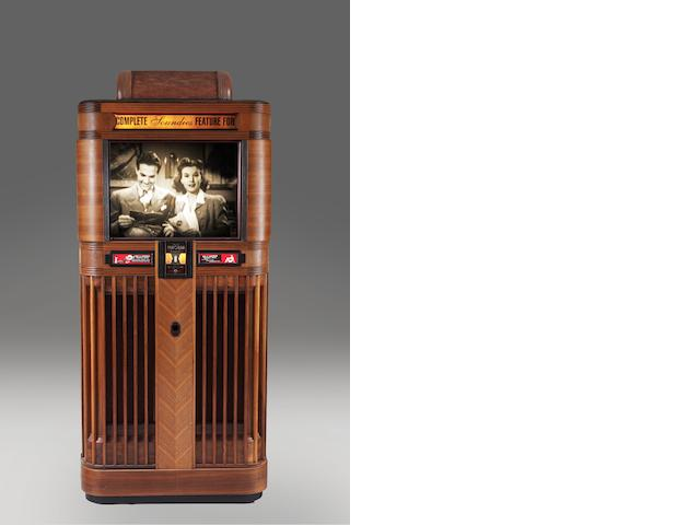 "A Mills ""Panoram"" movie jukebox,  American,  1939,"