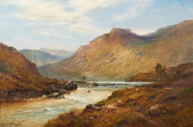 Alfred de Bréanski Snr. (British, 1852-1928) Below Lochnagarr, N.B.