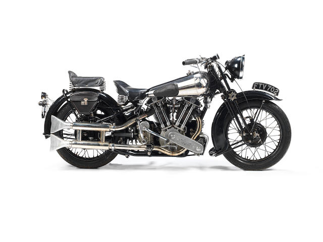 Single family ownership since 1961,1939 Brough Superior SS100 Frame no. 2107 Engine no. 1108