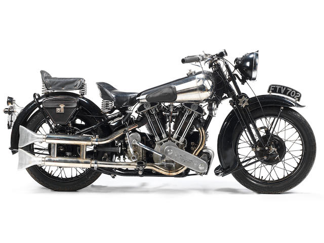 The ex-George Brough, London-Edinburgh Trial, single family ownership since 1961, 1939 Brough Superior 990cc SS100 Frame no. 2107 Engine no. 1108