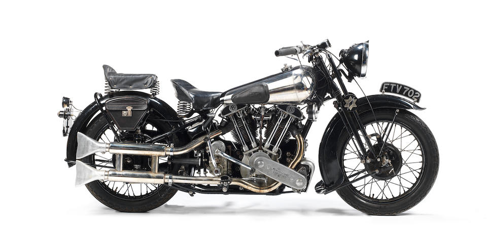 EX-GEORGE BROUGH 1939 BROUGH SUPERIOR SS100 TO BE SOLD AT BONHAMS STAFFORD SALE