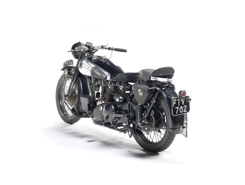 The ex-George Brough, London-Edinburgh Trial, single family ownership since 1961, 1939 Brough Superior 990cc SS100 Frame no. 2107 Engine no. 1108