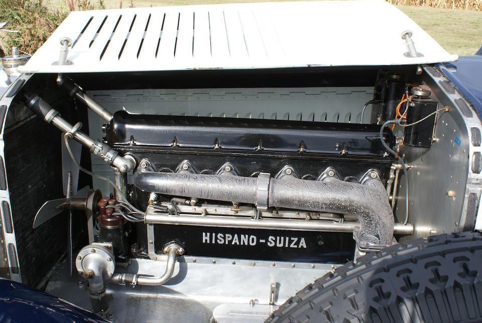 1923 Hispano-Suiza H6B Landaulet Découvrable