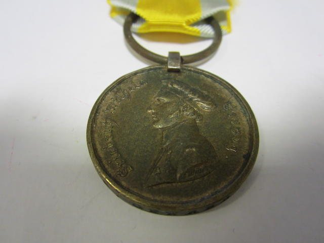 Brunswick Medal for Waterloo 1815,