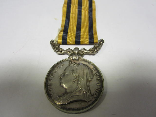 British South Africa Company's Medal 1880-96,