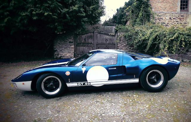 1991 Ford GT40 coupé réplique par GT Developments