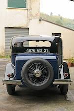 1934 Delage D8/15 berline sans montant