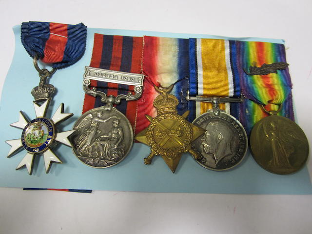 A Great War C.M.G. group of five to Colonel C.H.Melville, Army Medical Service,