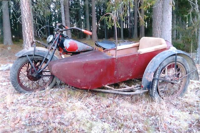 1934 Indian 1,265cc Four & Sidecar Project Frame no. to be advised Engine no. DCD281